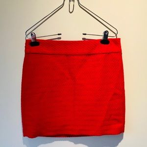 RED WOOL BANANA REPUBLIC MINI SIZE 4